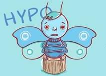Karaktäristiskt är att symtomen vid hypotyreos kommer smygande och är ospecifika, varför många inte uppfattar att det beror på en sjukdom.